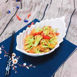 豆瓣酱干锅花菜