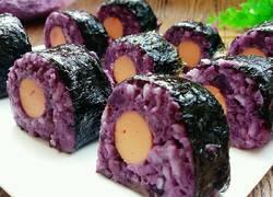 紫薯海苔包饭