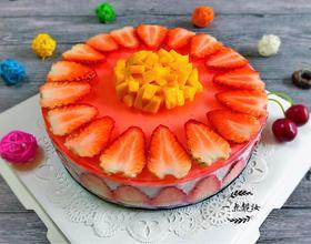 草莓酸奶慕斯蛋糕(电饭锅版)[图]