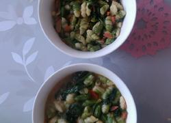 菠菜烩麻什