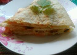 胡萝卜丁土豆丝饼
