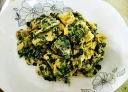 韭菜碎炒蛋