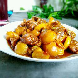 黄芪栗子鸡块