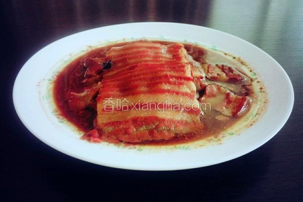豆腐乳扣肉