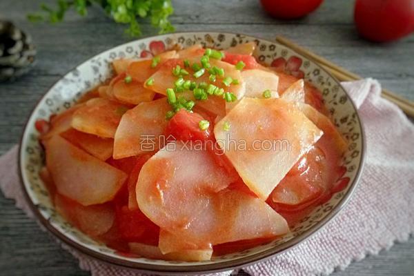 番茄土豆片的做法