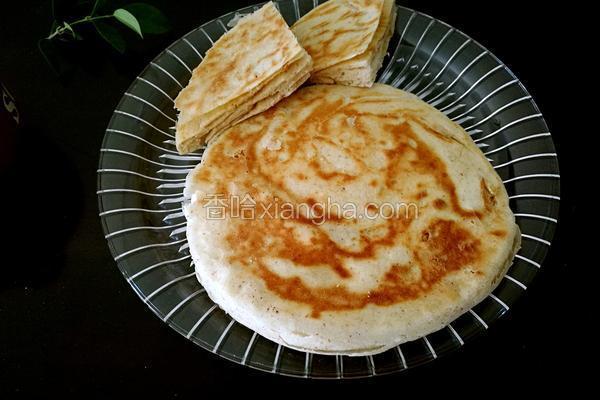 桃仁粉燕麦发面饼