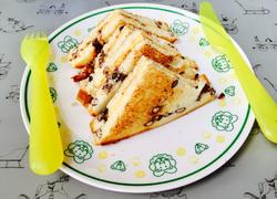 芝士红豆吐司三明治