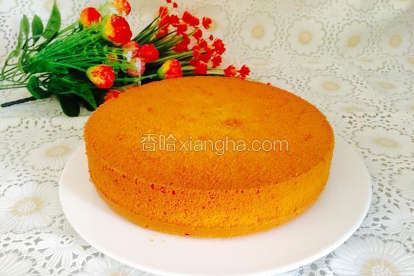 酸奶戚风蛋糕(低糖)