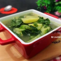 小白菜炖土豆的做法[图]