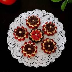 花朵黄油饼干