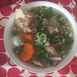 清炖羊肉粉汤的做法[图]