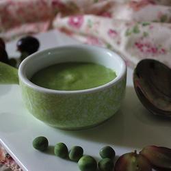 豌豆鳕鱼粥(宝宝辅食)