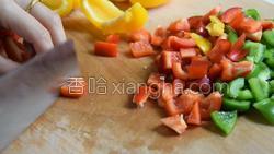彩椒炒鸡丁的做法图解3