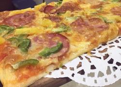 夏威夷薄底披萨