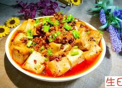麻婆肉沫豆腐