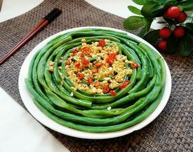 蒜香豇豆[图]