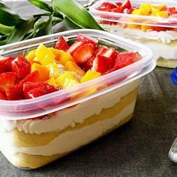 蛋糕水果盒子