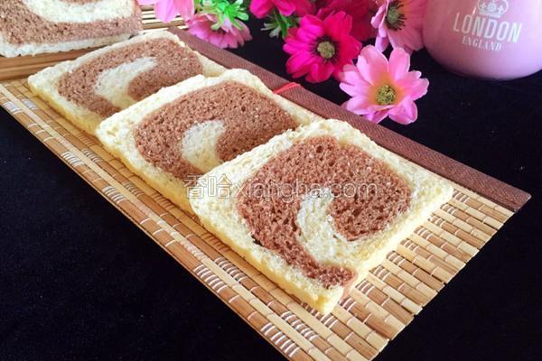 双色吐司(一次水浴发酵)