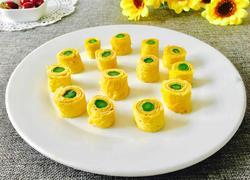 芦笋鸡蛋卷