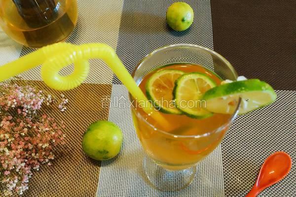 柠檬蜂蜜冻茶