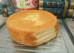 酸奶戚风蛋糕八寸
