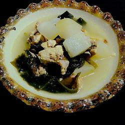 排骨冬瓜裙带菜汤
