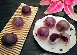 水晶紫薯豆沙包
