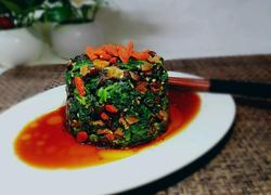 香菇菠菜墩