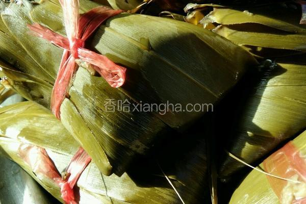 豇豆红枣粽子