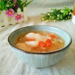 山竹银耳枸杞甜汤