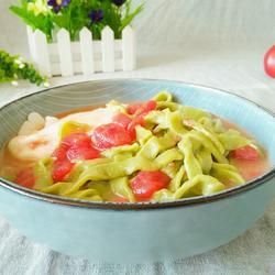 番茄菠菜面