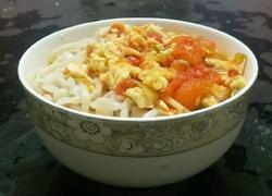 番茄鸡蛋打卤面