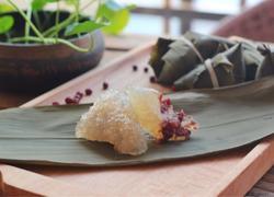 水晶西米粽