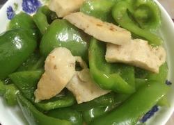 青椒炒肉卷
