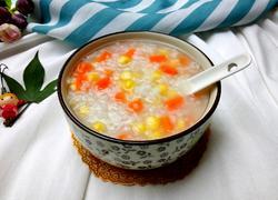 玉米胡萝卜粥