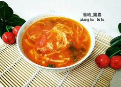 茄汁金针菇汤