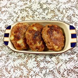 自制汉堡包肉饼胚