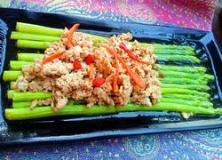芦笋拌碎肉