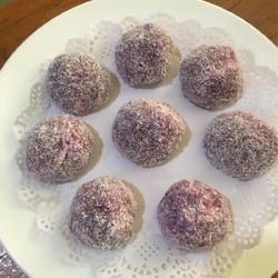 紫薯荔枝糍