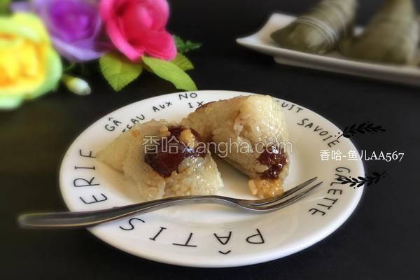 蜜枣葡萄干粽子