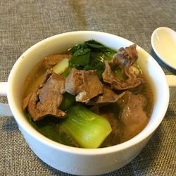 油菜猪心汤的做法[图]