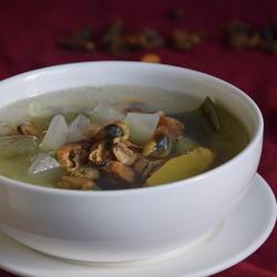 淡菜海带冬瓜汤