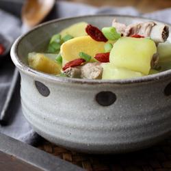青木瓜排骨汤