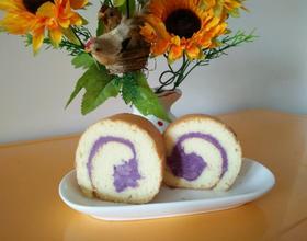 香芋紫薯蛋糕卷