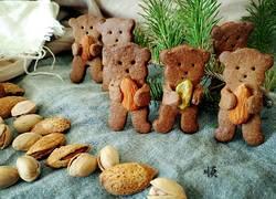 小熊抱果饼干