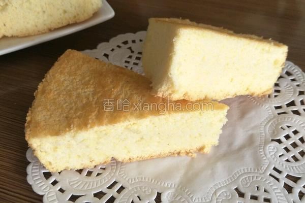 玉米面蛋糕的做法