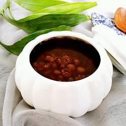 美颜红豆汤