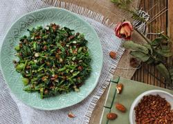 核桃杏仁菠菜