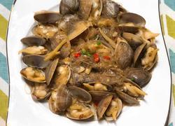 黄蛤粉丝煲