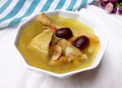 鲜土茯苓鸡汤